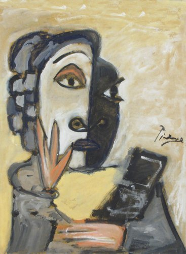 729: AFTER PABLO PICASSO (Spanish, 1881-1975).  Waterco