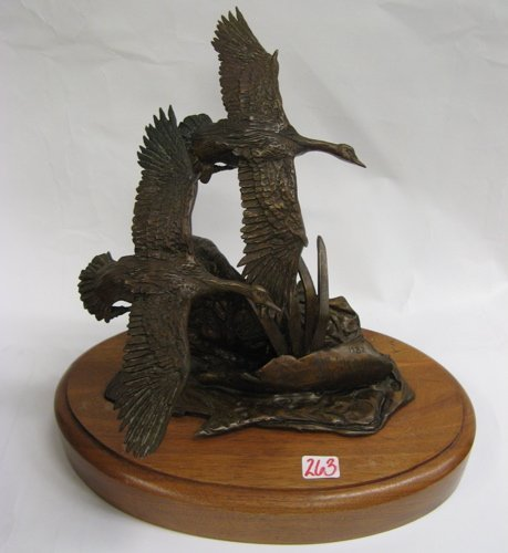 263: ORIGINAL SIGNED BOB WINSHIP BRONZE SCULPTURE,  fly