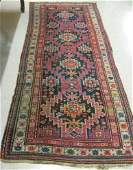 262 TWO SEMIANTIQUE PERSIAN TRIBAL AREA RUGS both  o