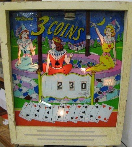 315: VINTAGE PINBALL MACHINE, Williams Electronic  Manu