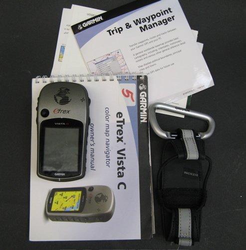 5: GARMIN Terex VISTA C COLOR HANDHELD GPS WITH  ACCESS