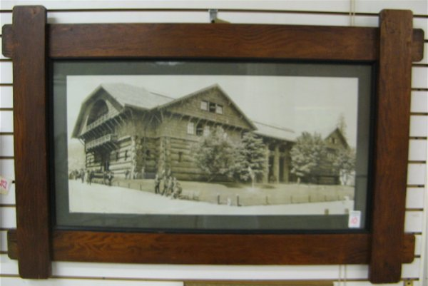 10: VINTAGE PHOTOGRAPH, Forestry Building, Lewis and Cl