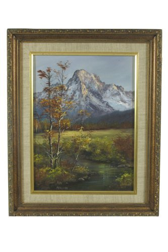 23: PATSEE PARKER oil on canvas  (Waldport, Oregon 20th