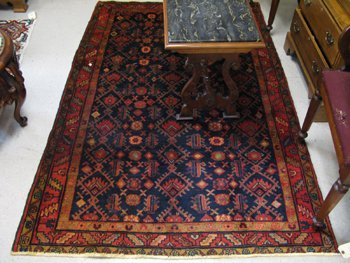 308: NORTHWEST PERSIAN TRIBAL AREA RUG, overall Herati