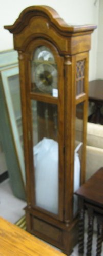 397 Oak Grandfather Floor Clock Ethan Allen Furnitur