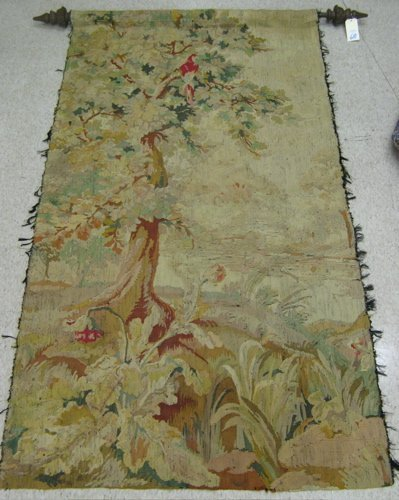 610: BELGIAN/FLEMISH HAND WOVEN WALL TAPESTRY.  The ver