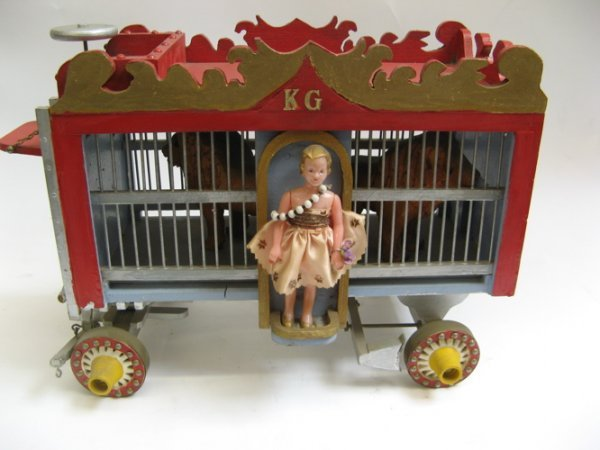 5: A SEVENTEEN CAR CIRCUS WAGON TRAIN, hand crafted by