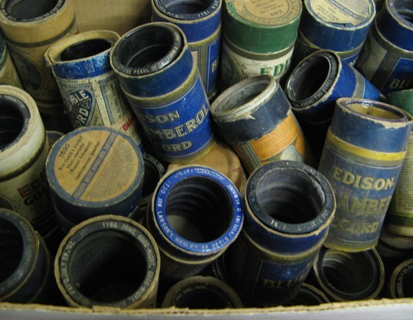 238: COLLECTION OF CYLINDER  RECORDS