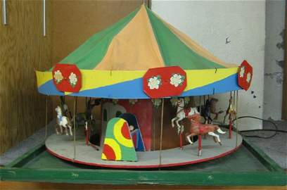 443: FOUR-PIECE MODEL CIRCUS WITH FIGURES, Alpenrose  M