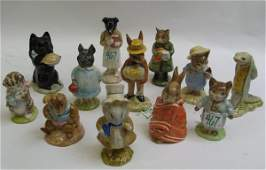 467: ENGLISH BESWICK PORCELAIN BEATRIX POTTER  MINIATUR