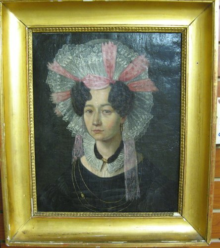 617: ATTRIBUTED TO 19TH CENTURY GERMAN SCHOOL oil on  c