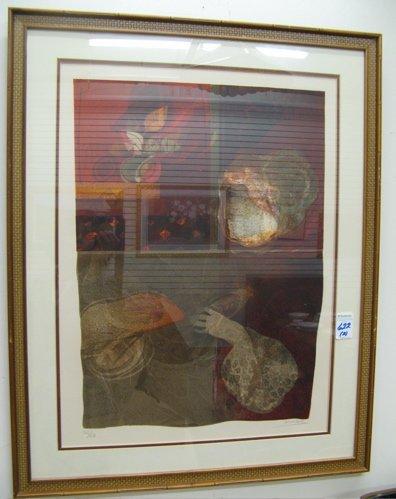 622: SUNOL ALVAR, PAIR COLOR LITHOGRAPHS  (Spain, born