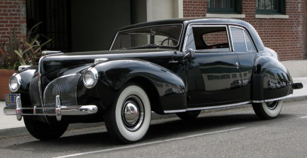 789: CLASSIC 1941 LINCOLN CONTINENTAL COUPE