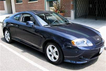 187: 2006 HYUNDAI TIBURON GS TWO DOOR SPORT COUPE
