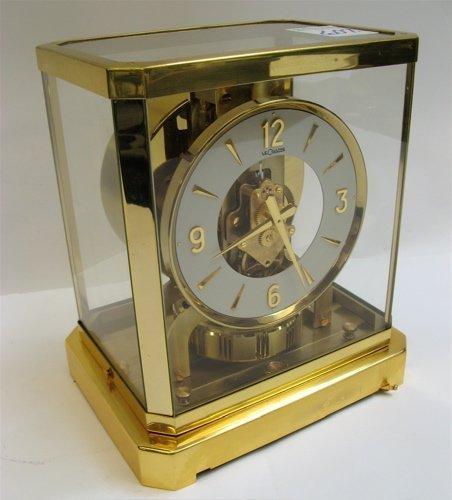 607: ATMOS CLOCK CALIBER MOVEMENT, SERIAL# 151224.  The
