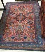 703 SEMIANTIQUE PERSIAN TRIBAL AREA RUG Hamadan  vil