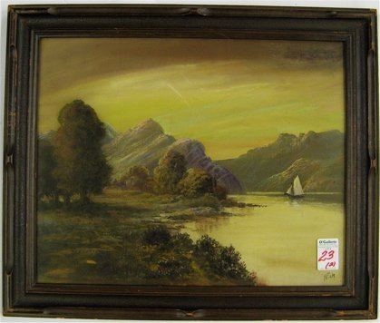 23: TWO PASTEL PAINTINGS attributed to R.L. Rich,  New
