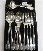 707 FRENCH CHRISTOFLE SILVER PLATED SERVING PIECES  M