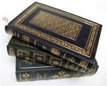 3: A COLLECTION OF TWENTY LEATHER BOUND BOOKS by  the F