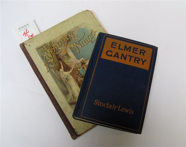 """4: TWO COLLECTIBLE BOOKS: a first edition of """"Elmer Gan"""