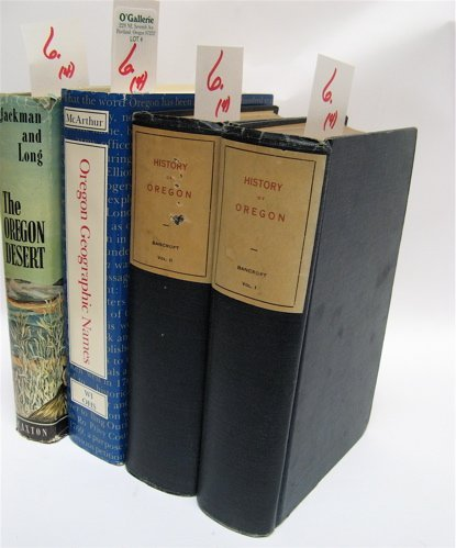 """6: FOUR COLLECTIBLE BOOKS: """"The Oregon Desert"""", a  firs"""