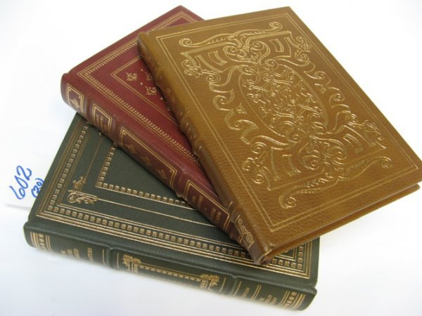 602: A COLLECTION OF TWENTY LEATHER BOUND  COLLECTIBLE