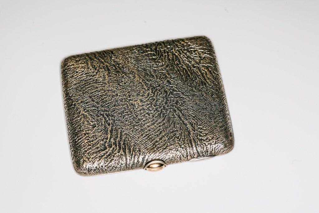 1931 Finnish Samorodok Silver & Gold Cigarette Case