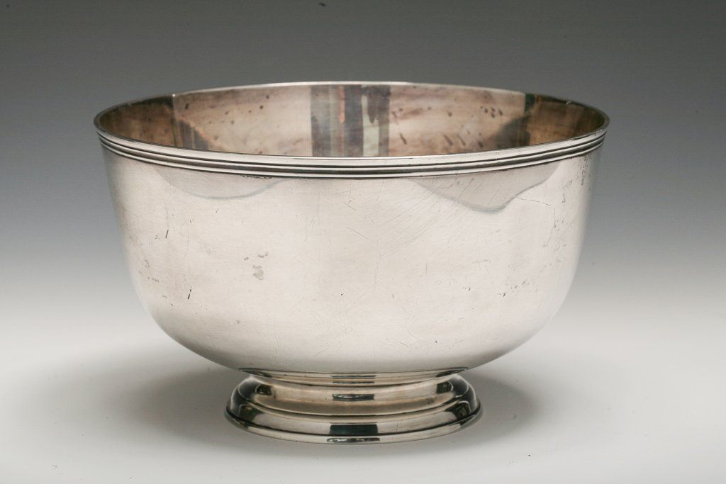 Tiffany & Co Sterling Silver Bowl, Design by Jacob Hurd