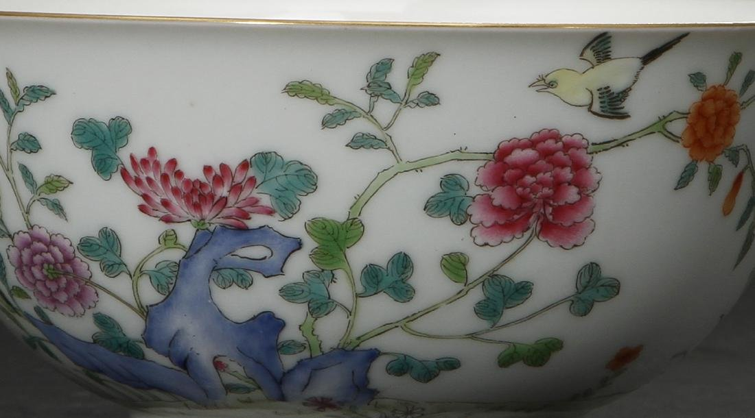 Famille Rose 'Peony' Bowl - 2