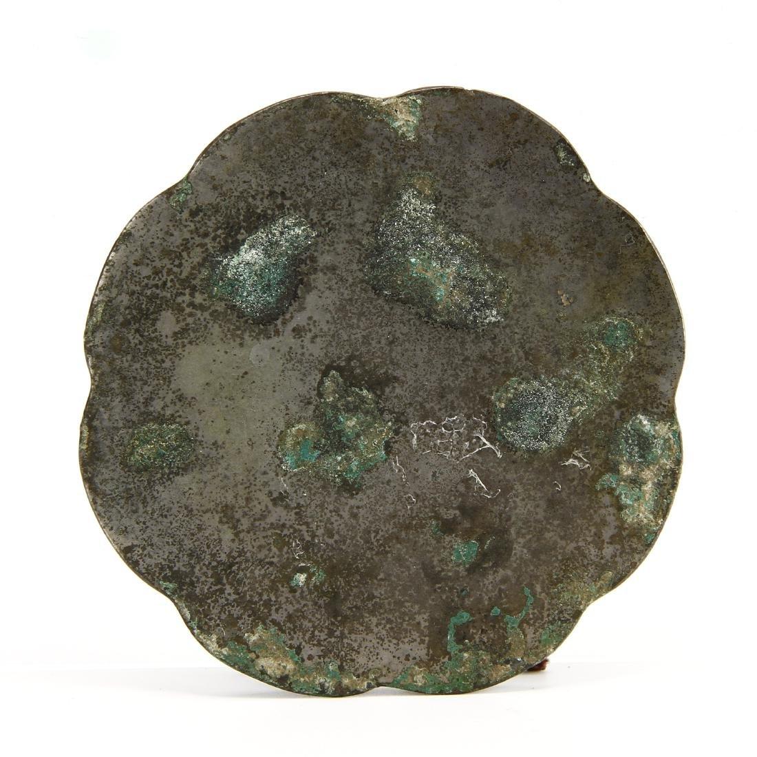 Bronze 'Phoenix' Mirror - 3