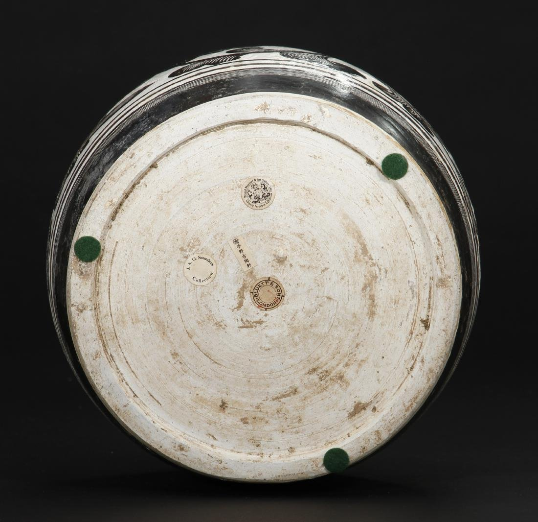 Large Cizhou Incised and Painted Truncated Meiping - 7