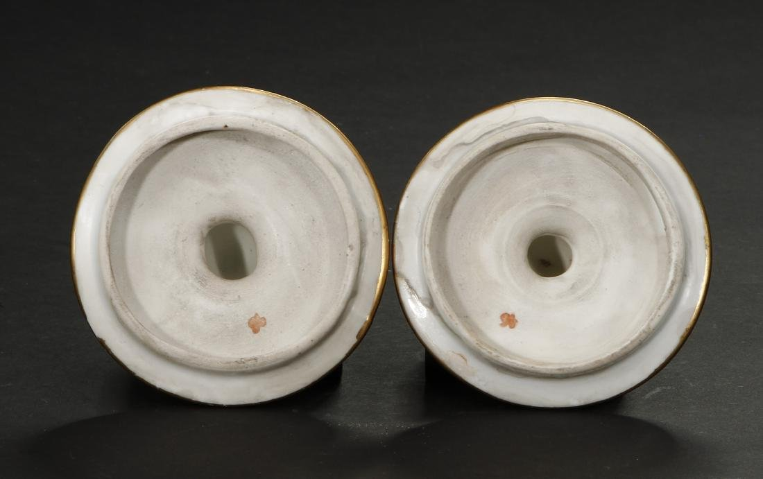Pair of Famille Noir Ginger Jars and Covers - 8
