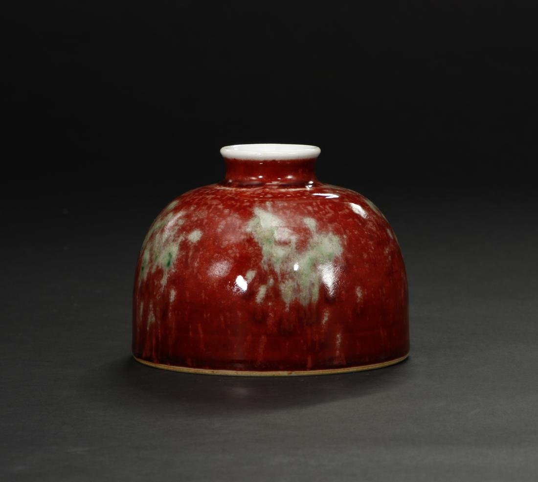 Peachbloom-Glazed Beehive Waterpot - 3