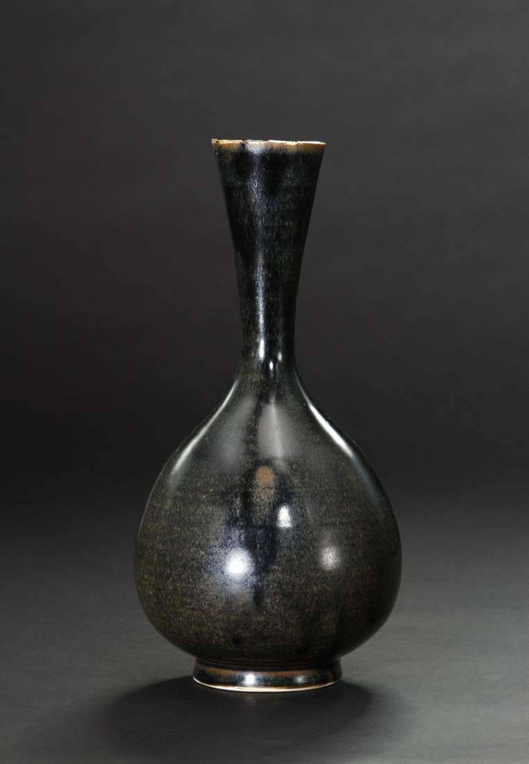 Black Ding 'Yuhuchuan' Vase, Northern Sung - 2