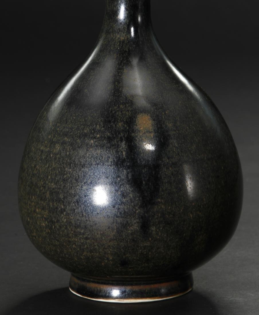 Black Ding 'Yuhuchuan' Vase, Northern Sung - 7