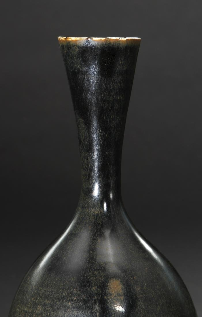 Black Ding 'Yuhuchuan' Vase, Northern Sung - 8