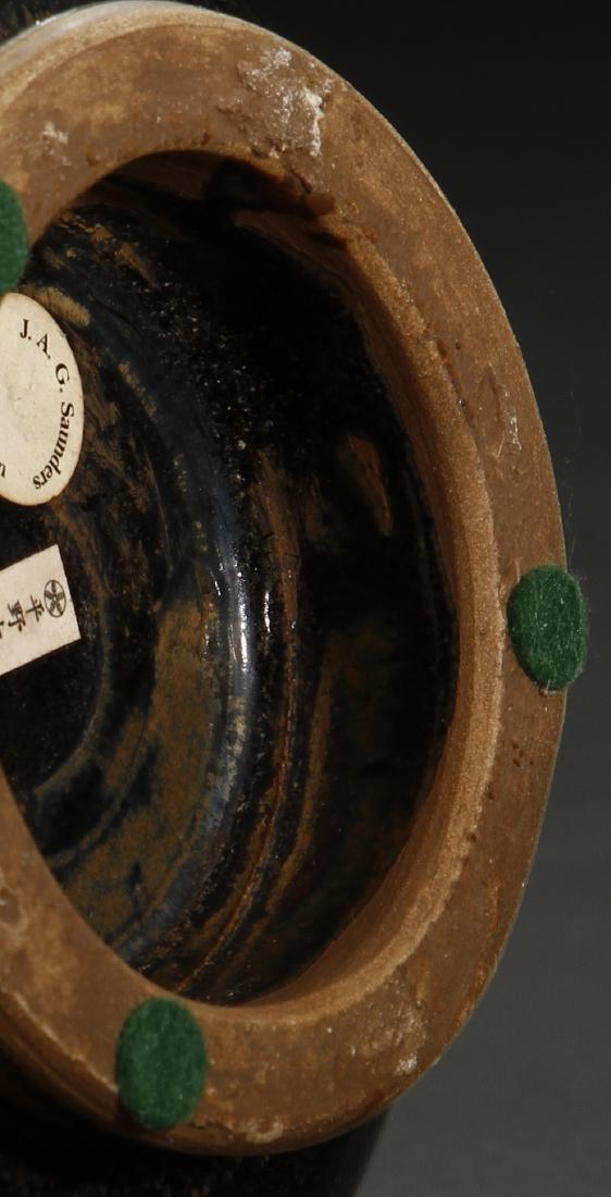 Cizhou Black Glazed Russet Spotted Yuhuchuan Vase - 8