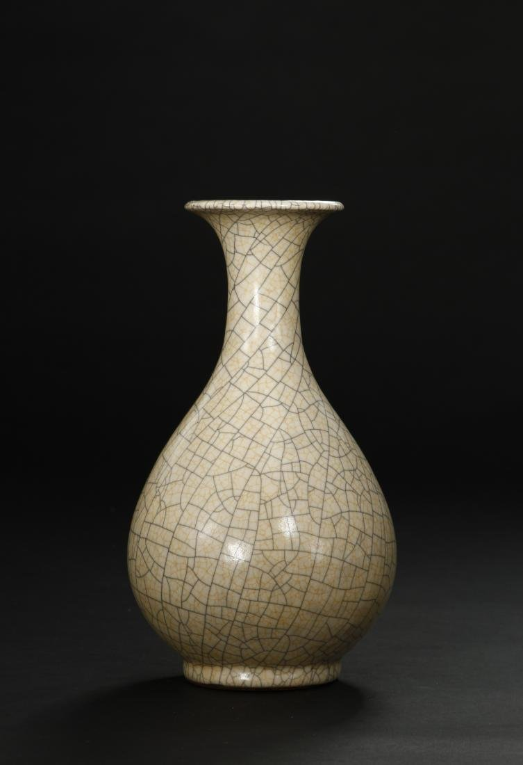 Crackled Glazed Yuhuchuan Vase