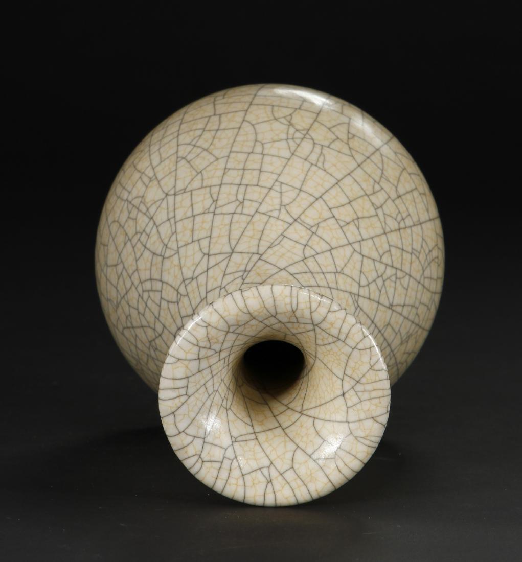 Crackled Glazed Yuhuchuan Vase - 6