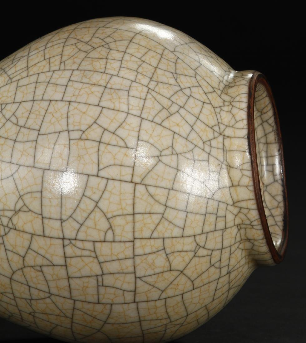 Crackled Glazed Yuhuchuan Vase - 9