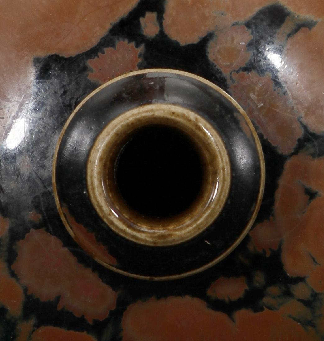 Cizhou Black-Glazed Russet Splashed Meiping - 5