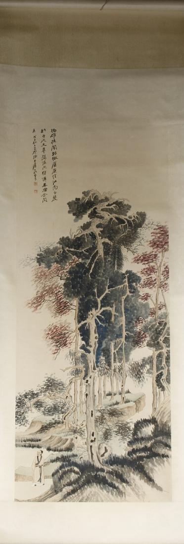 Chinese Scroll Painting of Landscape, Zhang Daqian - 5