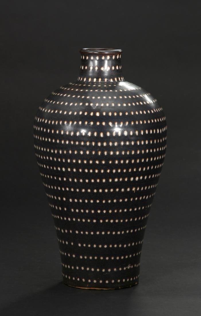 Fine Jizhou Spotted Meiping Vase
