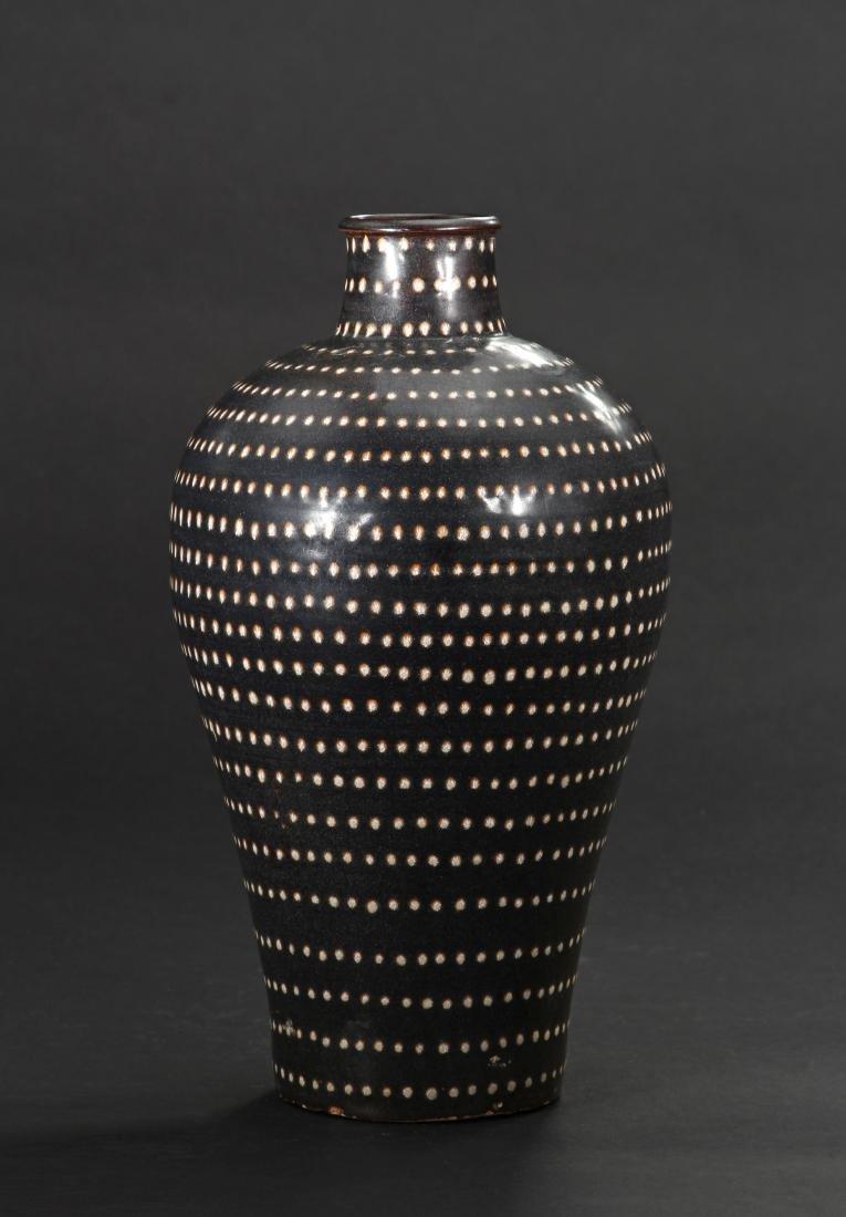 Fine Jizhou Spotted Meiping Vase - 2