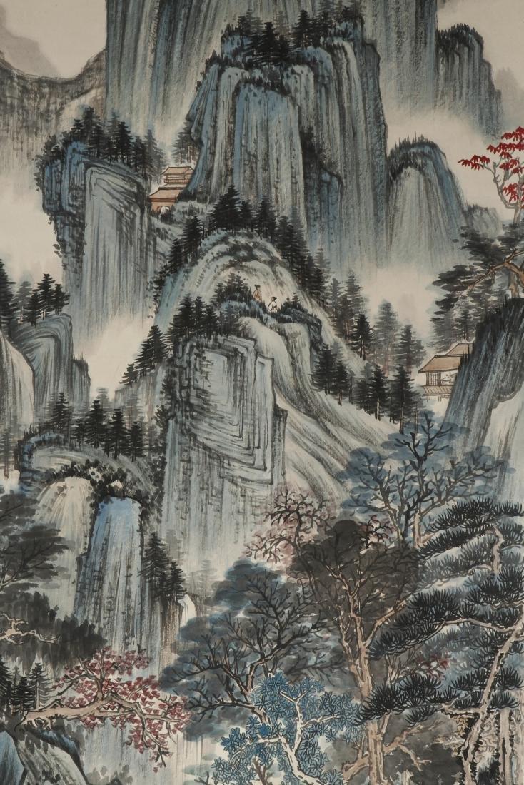 Chinese Scroll Painting of Landscape, Zhang Daqian - 2