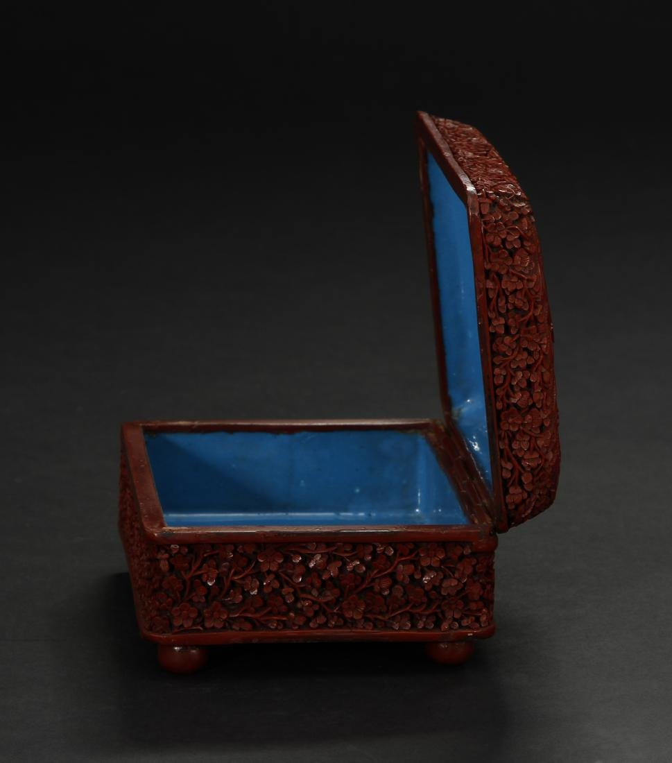 Cinnabar Lacquer Box - 2