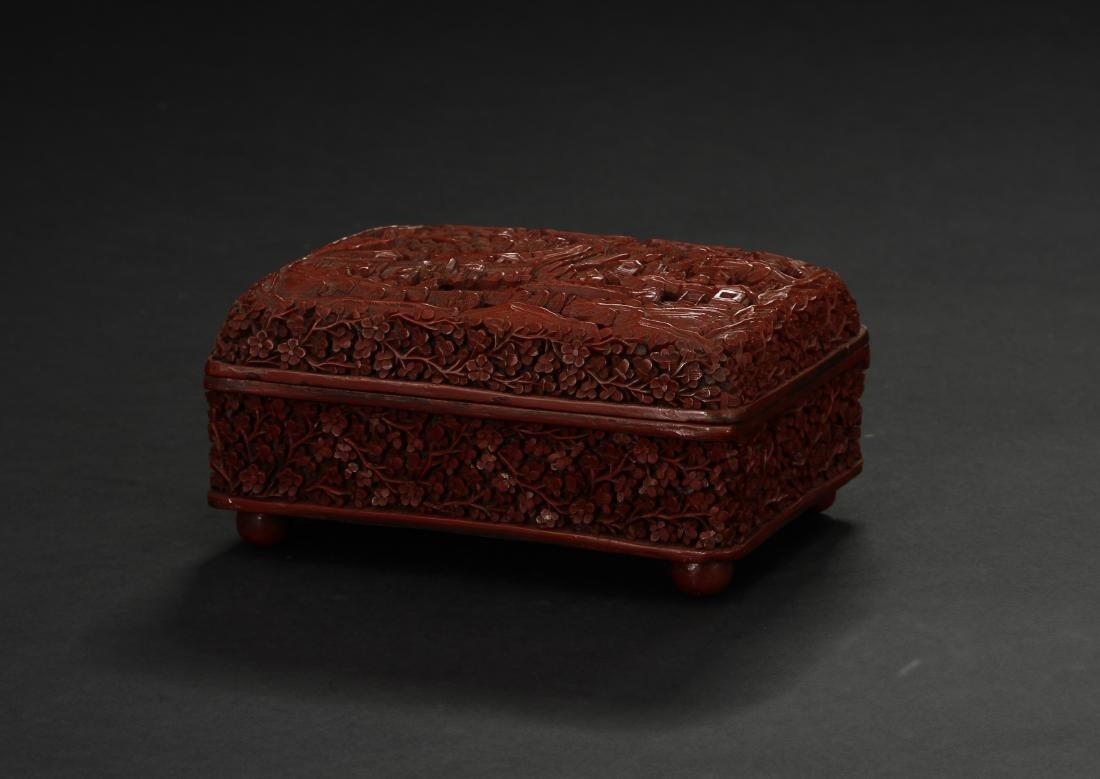 Cinnabar Lacquer Box - 4