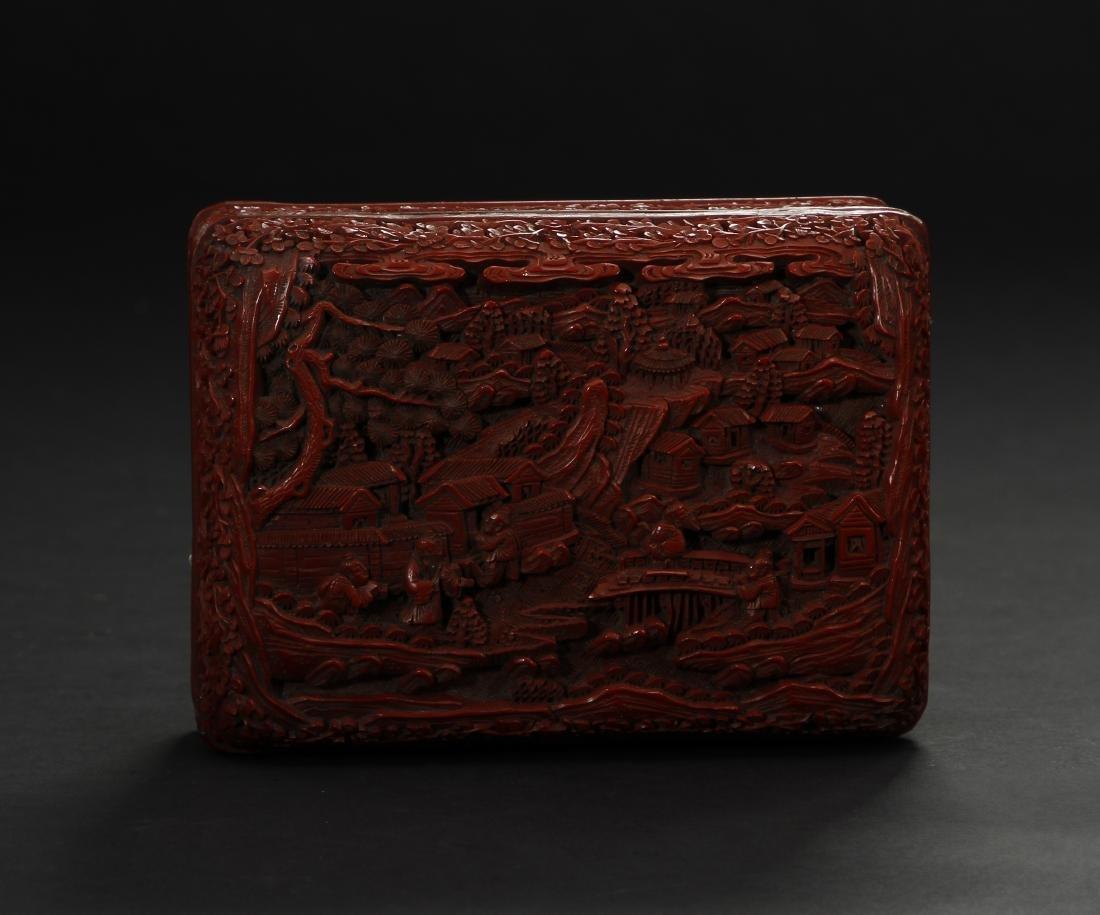 Cinnabar Lacquer Box - 5