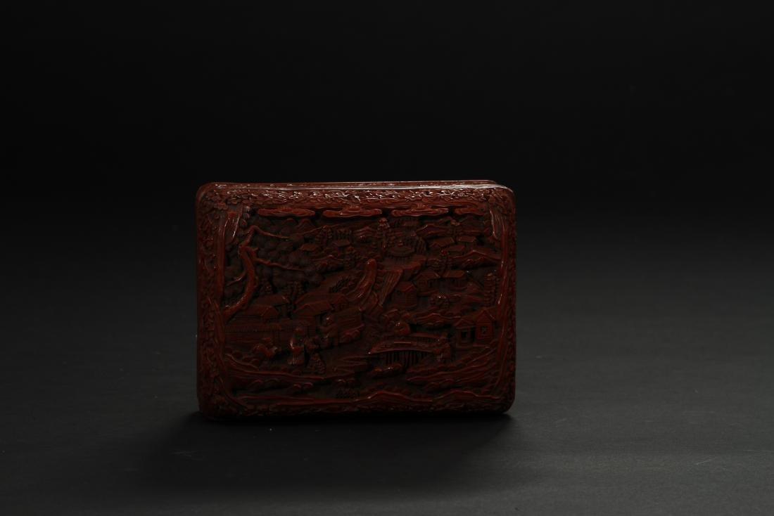 Cinnabar Lacquer Box - 6