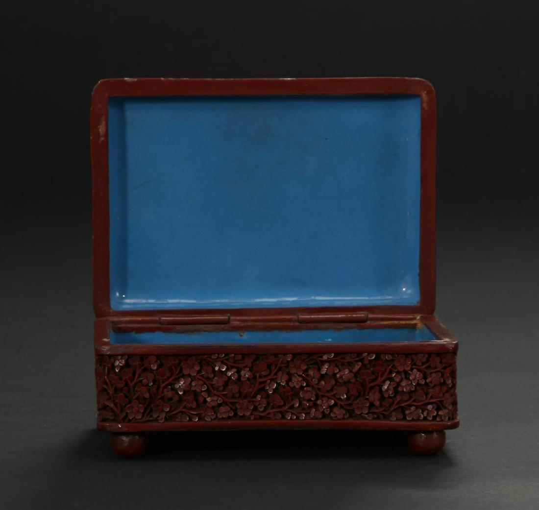 Cinnabar Lacquer Box - 7